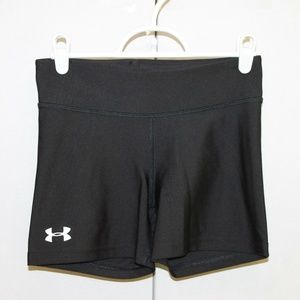 Under Armour Womens Small Black Compression Shorts